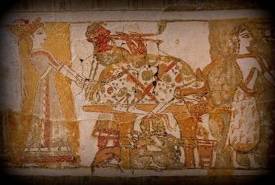 f9f10f98562 4) Ρίχνοντας μια ματιά στα κτίρια και στις τοιχογραφίες που έχουν διασωθεί  στις Μινωικές πόλεις: Κνωσό, Γόρτυνα, Φαιστό κ.τ.λ., θα δούμε ότι οι  Μινωίτες ...